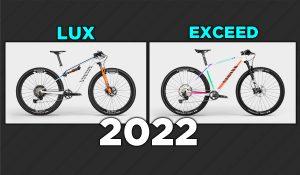 Canyon Lux e Exceed 2022: montaggi rivisti e prezzi super