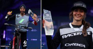 Nico Vouilloz e Laura Charles incoronati campioni dell'Ews-E 2021